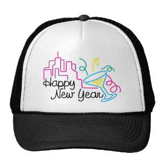 Happy New Year T-Shirts New Year's Trucker Hat