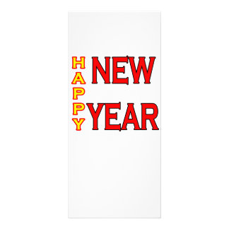 Happy New Year The MUSEUM Personalized Rack Card
