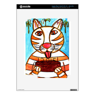Happy New Year Tiger! Skin For iPad 3