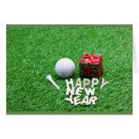 Happy New Year to Golfer
