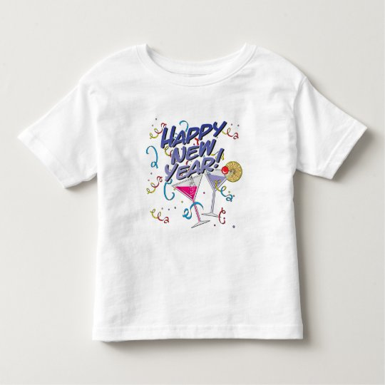 Happy New Year Toddler T-shirt