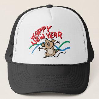 Happy New Year Trucker Hat