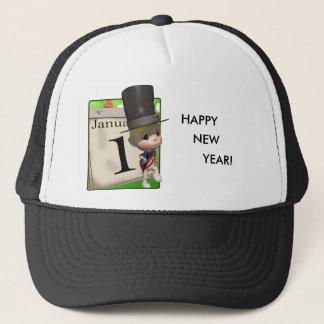 HAPPY NEW YEAR! TRUCKER HAT
