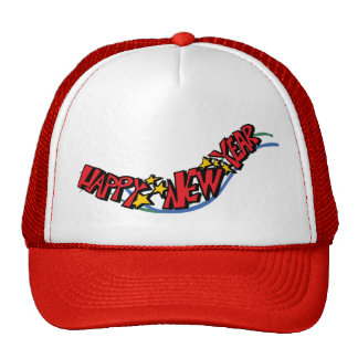 Happy new year - trucker hat