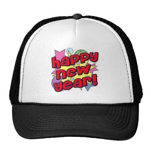 Happy New Year! Trucker Hats
