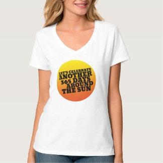 Happy New Year Tshirt 365 Days Around The Sun