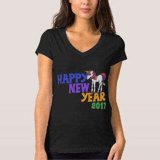happy new year unicorn 2017 T-Shirt