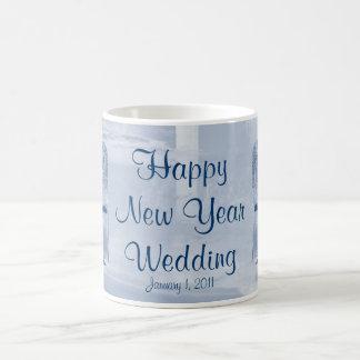 Happy New Year Wedding Mug