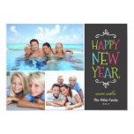 modern, holiday photo card, modern holiday card,