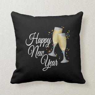 Happy New Year Pillows Decorative Amp Throw Pillows Zazzle