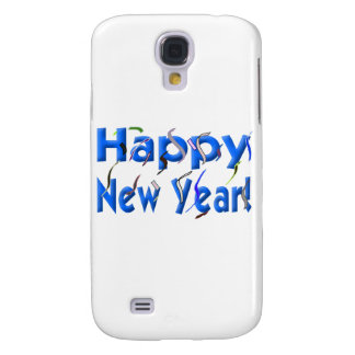 Happy New Year! with Confetti Galaxy S4 Cover