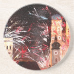Happy New Year - with Fireworks in Munich Coasters