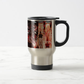 Happy New Year - with Fireworks in Munich Mugs