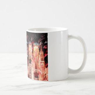 Happy New Year - with Fireworks in Munich Coffee Mug