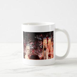 Happy New Year - with Fireworks in Munich Mug