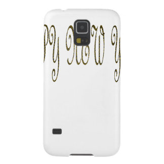 Happy New Year with Motif Snake Galaxy S5 Cases
