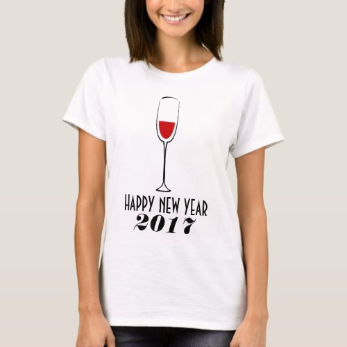 HAPPY NEW YEAR Women's Basic T-Shirt
