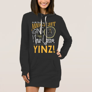 Happy New Year Yinz Women's Hoodie Dress