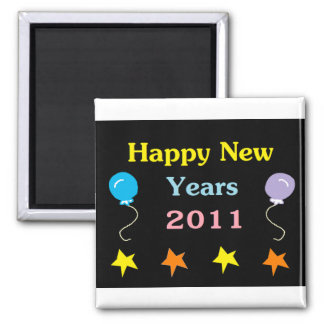 Happy New Years 2011 Refrigerator Magnet