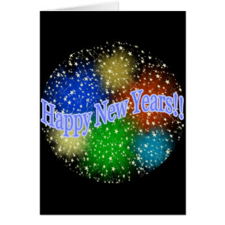 Happy New Years 2 Greeting Card