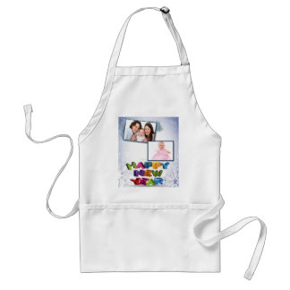 Happy New Year's Add Your Photo Apron