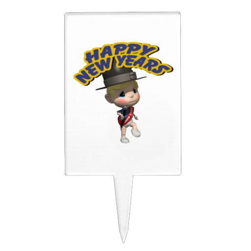 Happy New Years baby Cake Toppers