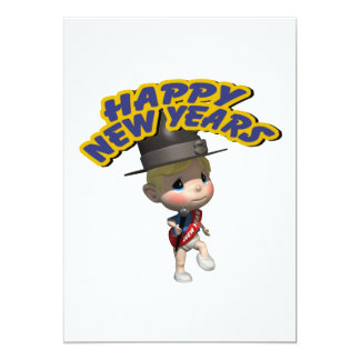 Happy New Years Baby Card