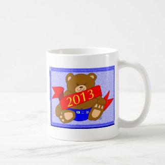 Happy New Year's Bear - 2013 Mugs