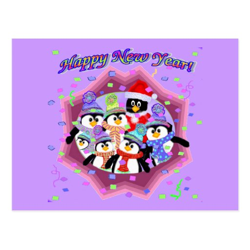 Happy New Years Cards Post Cards