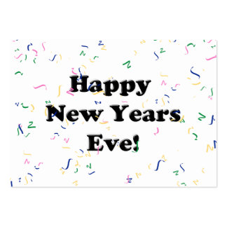 Happy New Year's Eve Large Business Cards (Pack Of 100)