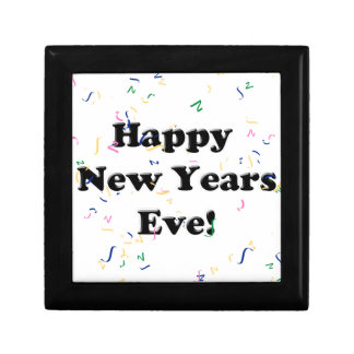 Happy New Year's Eve Jewelry Boxes