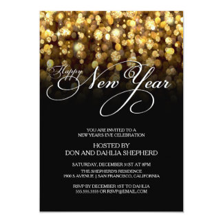 Happy New Year's Eve Party Invitation
