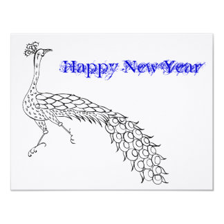 Happy New Years greeting - blank for your message Card