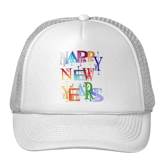 Happy New Years Hats