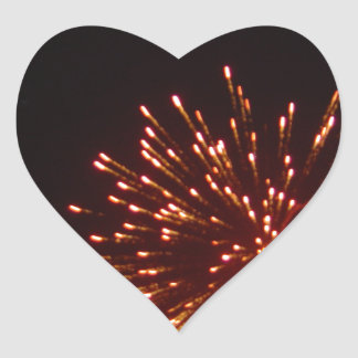 Happy New Years! Heart Sticker