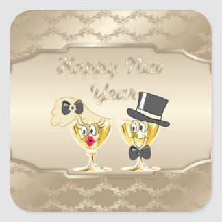 Happy New Years Holiday sticker