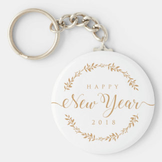 happy new years keychain