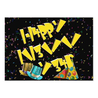 Happy New Years LEET Custom Announcements