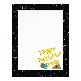 Happy New Years LEET Personalized Letterhead