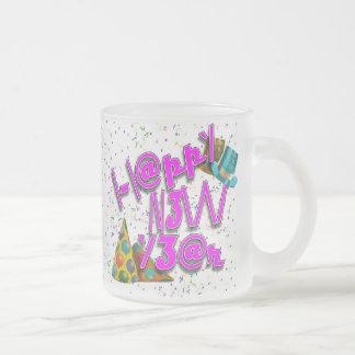 Happy New Years LEET Coffee Mugs