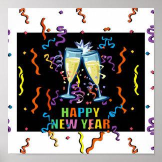 Happy New Years Print