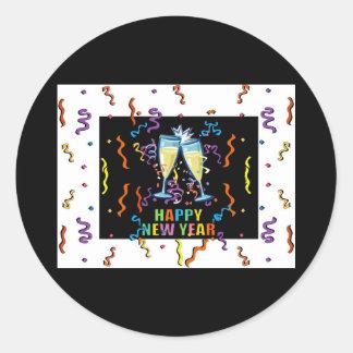 Happy New Years Sticker
