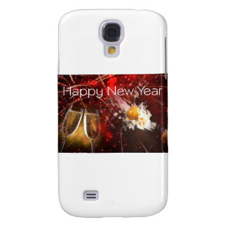 Happy New Year's Toast Samsung Galaxy S4 Cases
