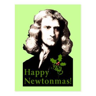 Happy Newtonmas Holiday Card Postcard