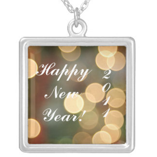 Happy NewYear! , 2011 Silver Plated Necklace