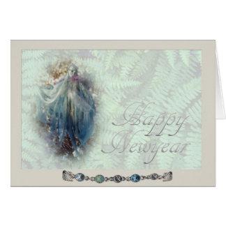 Happy  Newyear Greeting Card