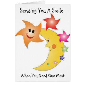 Happy Nights - Get Well Soon Greeting Card