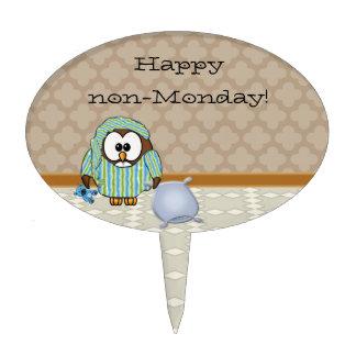 Happy non-Monday! Cake Topper