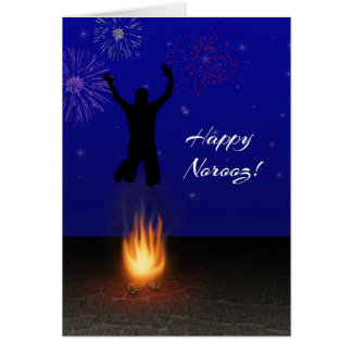 Happy Norooz Chahar-Shanbeh-Suri - Greeting Card