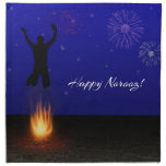 Happy Norooz Chahar-Shanbeh-Suri - Napkin
